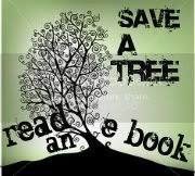 Save a Tree &#8211; Read an e-book Button