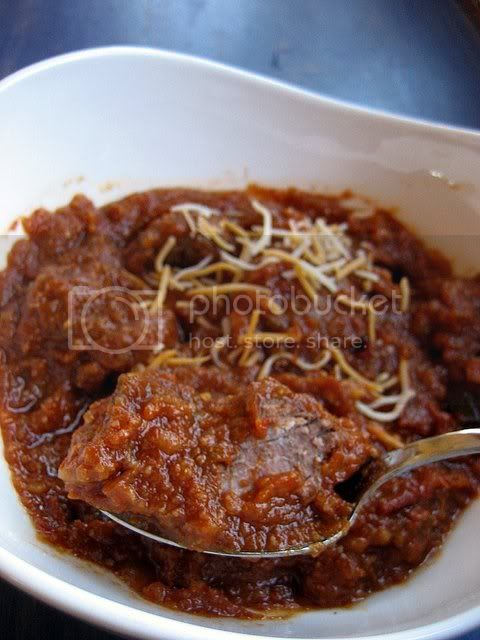 pressure cooker chili